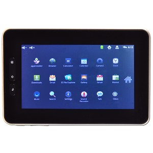 "1GHz 256MB 4GB 7"" Touchscreen Tablet Android 2.3 w/HDMI, Webcam"